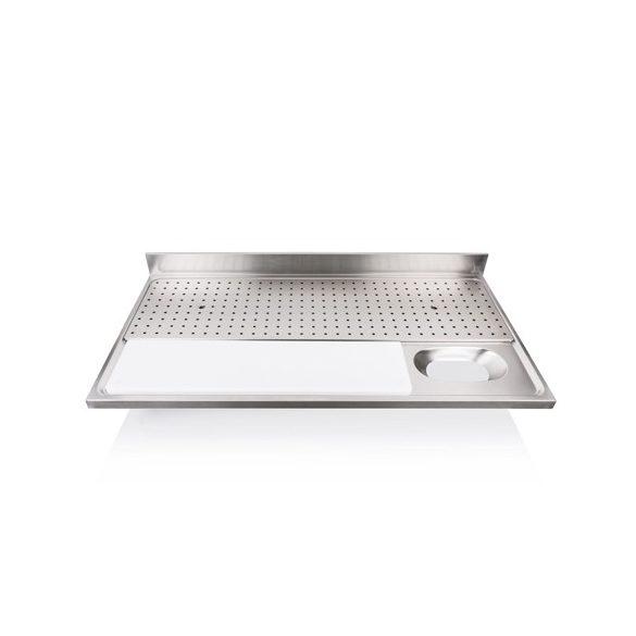 IPA14070HM Hús előkészítő - húsmosó fedlap perforált csepegtetővel, 1400x700mm