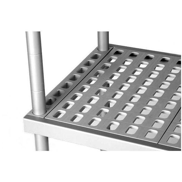 BRE16_204 Négyszintes Aluplast állvány (állványmodul), 2000*400*1600mm