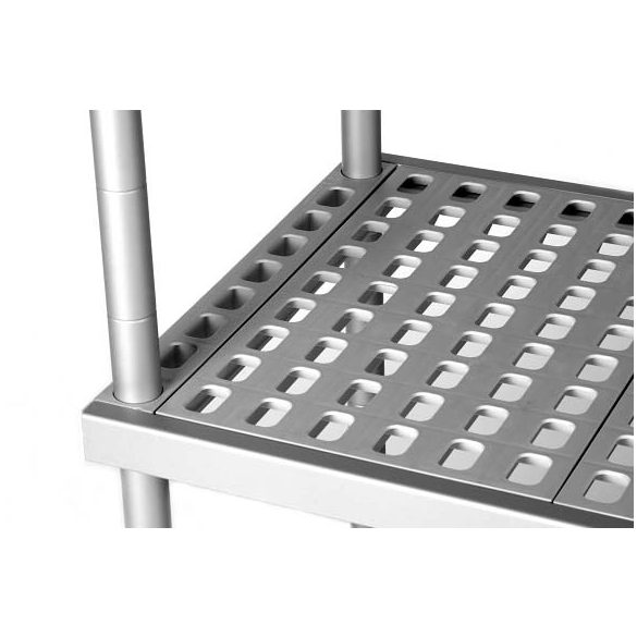 BRE16_205 Négyszintes Aluplast állvány (állványmodul), 2000*500*1600mm
