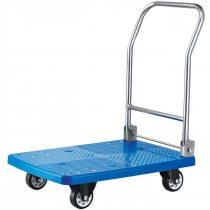 HENDI 810514 Platós áruszállító kézikocsi, 150kg teherbírással, összecsukható