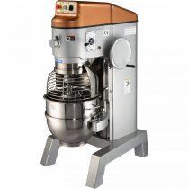 SPAR-MIXER SPB 80 HI Habverő-dagasztó-keverő gép, 80 literes üsttel, segédgép kihajtással, manuális üstemeléssel