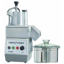 ROBOT-COUPE R 502 Kutter + Zöldségszeletelő 5,9 literes tartállyal, 2 sebességgel, 400V/900W