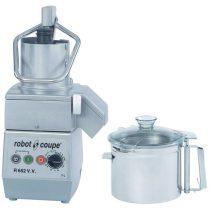 ROBOT-COUPE R 752 VV Kutter + Zöldségszeletelő 7 literes tartállyal, álítható sebesség, 230V/1500W