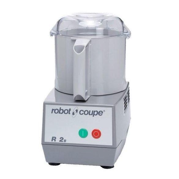 ROBOT-COUPE R 2 B Kutter polikarbonát motorblokkal és tartállyal 2,9L, egy sebesség