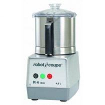 ROBOT-COUPE R 4-1 V Kutter rozsdamentes motorblokkal és tartállyal 4,5L, egy sebesség