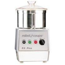 ROBOT-COUPE R 5-2 V Kutter rozsdamentes motorblokkal és tartállyal 5,9L, két sebesség (400V)