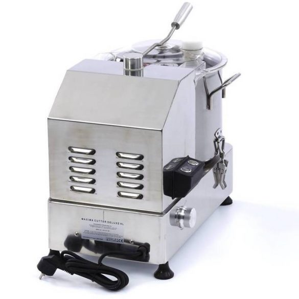 Maxima Deluxe Cutter 9 L Kutter állítható sebességgel, rozsdamentes, 9 literes