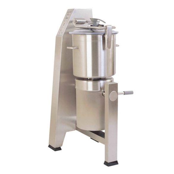 ROBOT-COUPE R 30 Kutter 28 literes tartállyal, kétsebességes, állványra szerelt (400V)