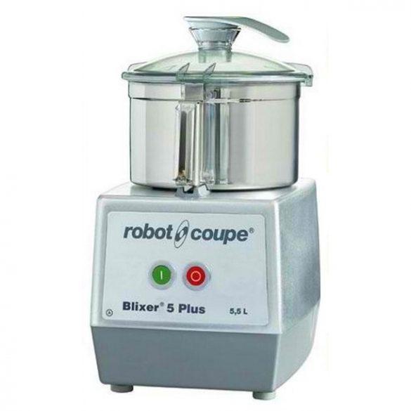 ROBOT-COUPE BLIXER 5-2 V Blixer 5,9 literes tartállyal, 2 sebességgel (400V)