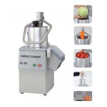 ROBOT-COUPE CL 52 (230 V) Zöldségszeletelő gép, kb 250 kg/h telj., nagyméretű betöltővel, 230V