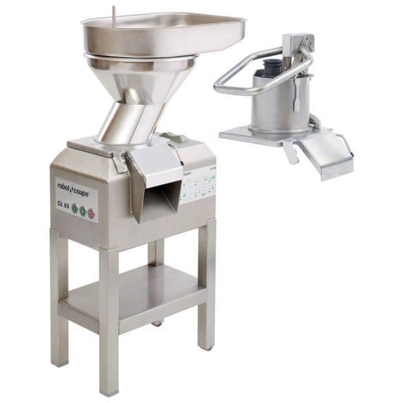 ROBOT-COUPE CL 60 2 Feed-Heads Zöldségszeletelő automata és manuális betöltő fejjel, 2 sebességes, kb 600 kg/h telj.
