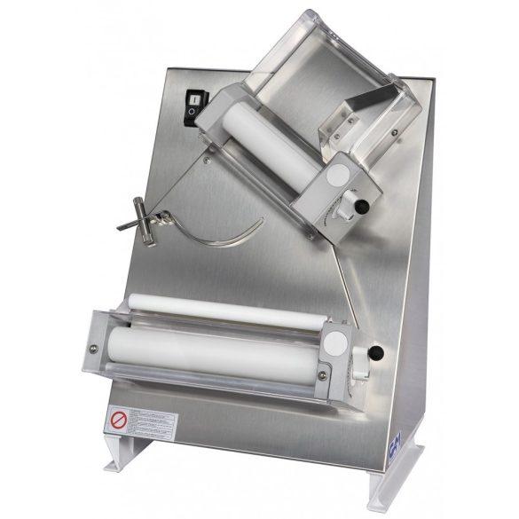 Pizzatészta-nyújtó gép 40cm-es nyújtóhengerekkel – GAMR40E