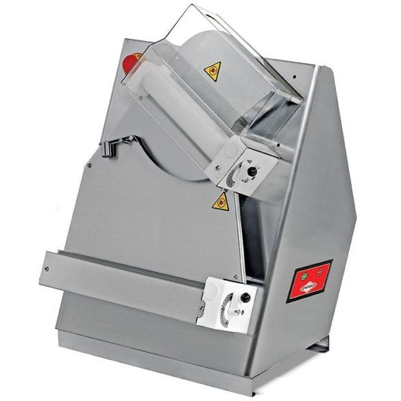 Tésztanyújtó gép pizzatésztához, 40 cm-es nyújtóhengerekkel – EMPEROEMP.HA.01.Y
