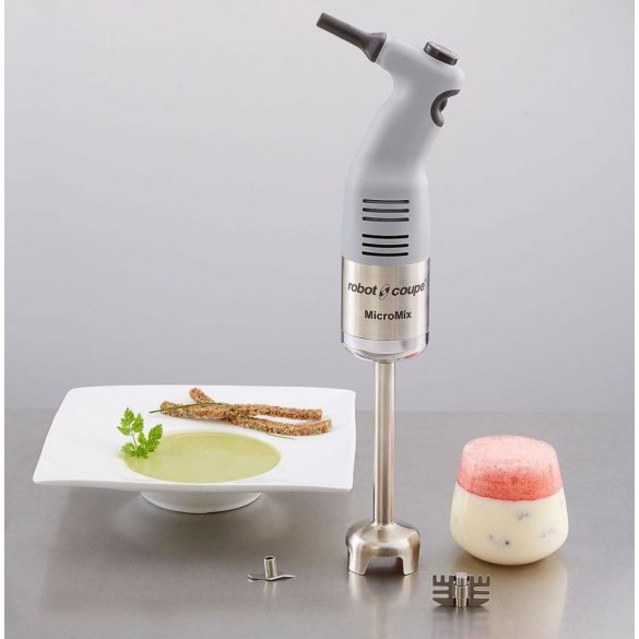 ROBOT-COUPE Micro Mix MicroMix extra-kisméretű rúdmixer 165mm-es rúddal, állítható sebességgel, 220W