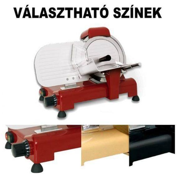 """Felvágottszeletelő gép """"LUSSO"""", 275mm pengeátmérővel – RGVLUSSO 275S CE"""