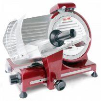 HENDI 210086 Felvágottszeletelő HENDI, 250mm pengeátmérővel, piros változat