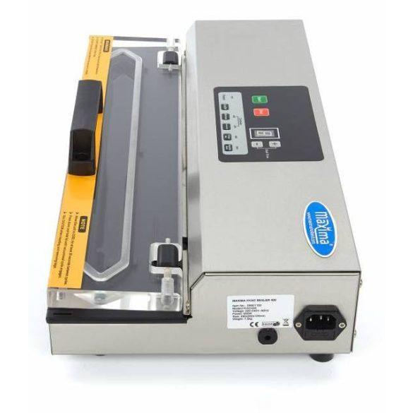 Maxima 09501100 Vákuumcsomagoló - fóliahegesztő gép, külső tasakos, 406mm-es hegesztőéllel