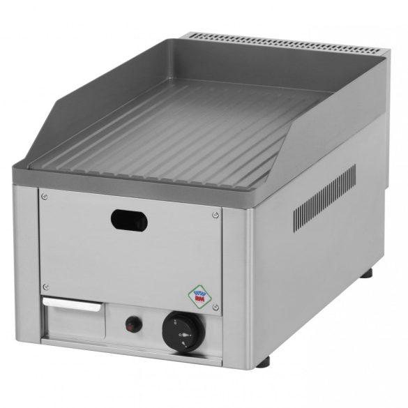 REDFOX FTR 30 G Szeletsütő lap bordázott sütőfelülettel 32x48cm, gázüzemű, asztali.