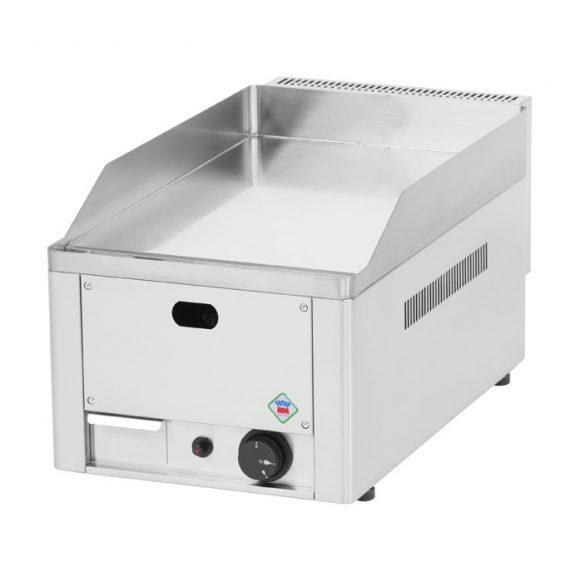 REDFOX FTHC 30 G Szeletsütő lap sima króm sütőfelülettel 32x48cm, gázüzemű, asztali.