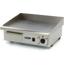 Szeletsütő lap, elektromos, 55x35cm-es bordázott rozsdamentes acél sütőfelülettel – Maxima 09300070