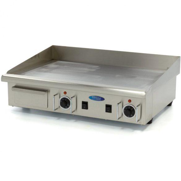 Maxima 09300075 Szeletsütő lap, elektromos, 73x40cm-es sima rozsdamentes acél sütőfelülettel