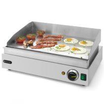 Szeletsütő lap, elektromos, 518x328mm-es sima krómozott sütőfelülettel – HENDI203149