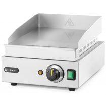 Szeletsütő lap, elektromos, 330x270mm-es sima krómozott sütőfelülettel – HENDI203125