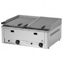 REDFOX GL 60 G Lávaköves grill, dupla, gázüzemű (8kW) asztali
