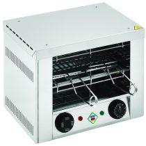 REDFOX TO 920 GH Toaster, egy szintes, 2 szendvicshez, quartz fűtőbetéttel