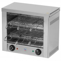 REDFOX TO 960 GH Kétszintes toaster melegszendvics sütő, 6 szendvicshez, quartz fűtőbetéttel