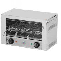 REDFOX TO 930 GH Toaster, egyszintes, 3 szendvicshez, quartz fűtőbetéttel