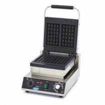 Maxima 09365105 Ipari gofrisütő (waffelsütő), klasszikus sütőformával, szimpla