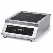 Nagyteljesítményű indukciós főzőlap 5000W/400V – HENDI239322
