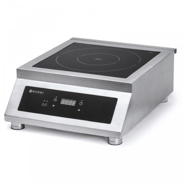 HENDI 239322 Nagyteljesítményű indukciós főzőlap 5000W/400V