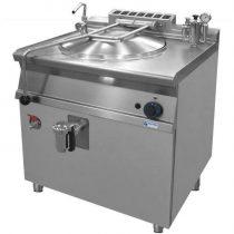 GASZTROMETÁL GLR-782 Gázüzemű ételfőző üst, 80 literes indirekt fűtéssel.