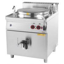 REDFOX BI 90/150 E Elektromos főzőüst, 150 literes, indirekt fűtéssel
