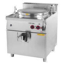REDFOX BI 90/150 G Főzőüst gázüzemű, 150 literes, indirekt fűtéssel