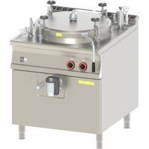 REDFOX BIA 90/150 E Túlnyomásos főzőüst, elektromos 150 literes, indirekt fűtéssel
