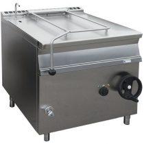 Billenő serpenyő, elektromos üzemű, kézi billentés, 50 literes, szénacél fenékkel – GASZTROMETÁL EBS55.78