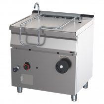 Billenő serpenyő, gázüzemű, manuális billentéssel, inox fenék, 50 literes – REDFOX BR 70/80 G/N