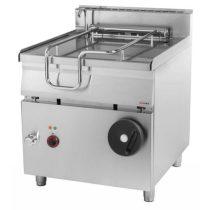 REDFOX BR 90/80 E/N Billenő serpenyő, elektromos, 80 literes, rozsdamentes acél fenéklemezzel