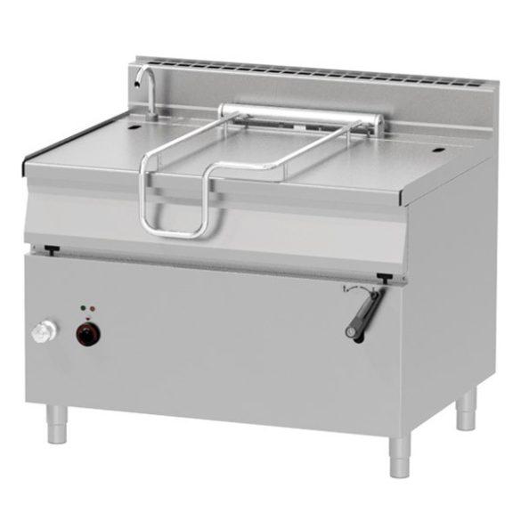 REDFOX BR 90/120 E/N Billenő serpenyő, elektromos, 120 literes, rozsdamentes acél fenéklemezzel
