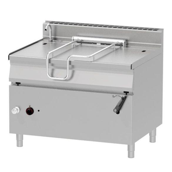REDFOX BR 90/120 G/N Billenő serpenyő, gázüzemű, 120 literes, rozsdamentes acél fenéklemezzel