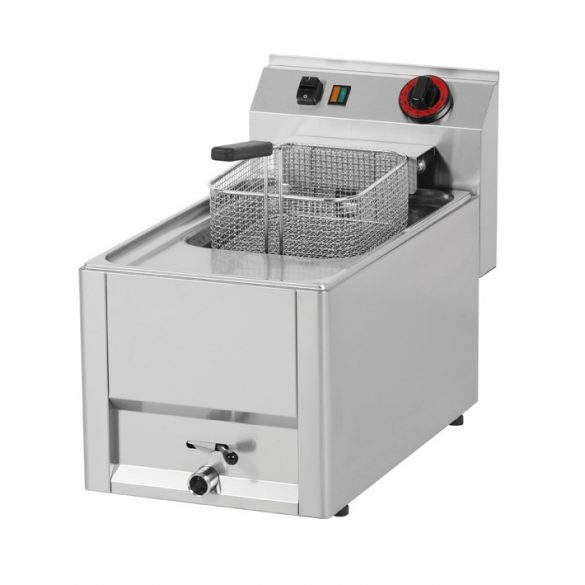 REDFOX FE 30 ELT Olajsütő elektromos 8 literes asztali, 330mm, 6kW
