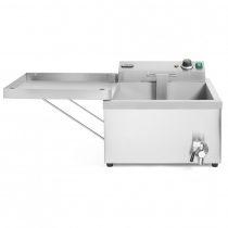 HENDI 205914 Olajsütő, 12 literes, lángos és fánk sütésére