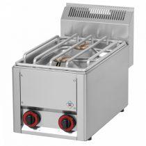 REDFOX SP 30 GLS Gáztűzhely, asztali kialakítás, 2*4,5 kW égőrózsával