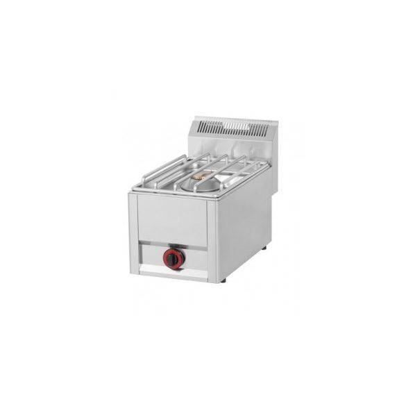REDFOX SP 30/1 GLS Gáztűzhely, asztali kialakítás, 1*4,5 kW égőrózsával