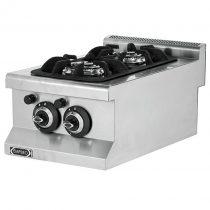 Asztali gáztűzhely, 2 égős, 5,3kW összteljesítménnyel – EMPERO EMP.6KG010