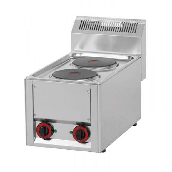 REDFOX SP 30 ELS Tűzhely elektromos asztali, két főzőlapos, 4kW/400V