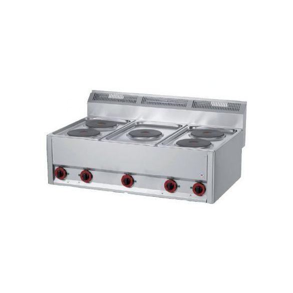 REDFOX SP 90/5 ELS Tűzhely elektromos asztali, öt főzőlapos